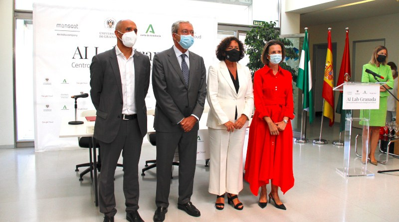 Minsait, University Of Granada and Google Cloud launch AI Lab Granada. Photo Credit: Indra