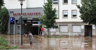 Flood damage in Hagen, NRW, Germany. Photo Credit: Bärwinkel,Klaus, Wikipedia Commons