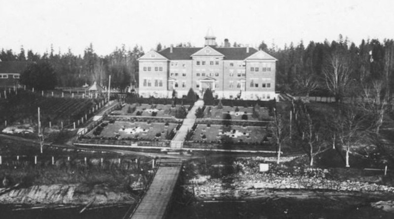The former Kuper Island Indian Residential School, 1941/ Public domain