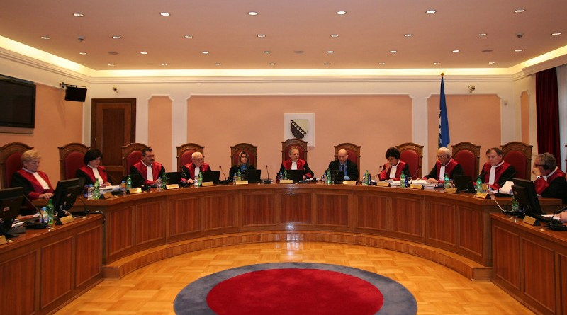 The judges of the Bosnian Constitutional Court. Photo: The Constitutional Court.