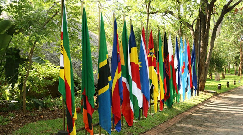 Southern African Development Community (SADC) flags. (Photo supplied)