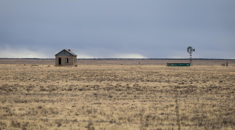 Drought-stricken farmland in New Mexico CREDIT Richard Wellenberger/iStock/Getty Images Plus