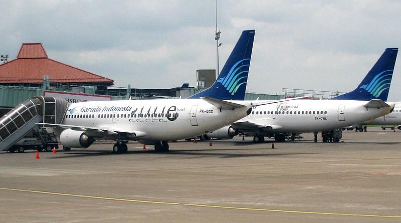 Garuda Indonesia airlines. Photo Credit: Gunawan Kartapranata, Wikipedia Commons