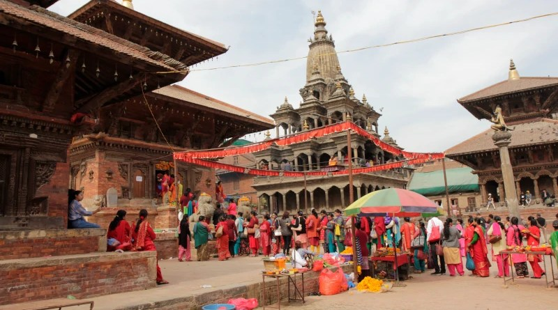 For the first time since the 2015 earthquake and the reconstruction of the Char Narayan Temple in Lalitpur (Nepal), which was destroyed in it, the popular festival of Haribodhini Ekadash is taking place. It celebrates the awakening of the Hindu god Vishnu after four months of sleep. On this occasion, the celebrations also mark the reopening of the temple at the UNESCO World Heritage site. Image credit: Christiane Brosius