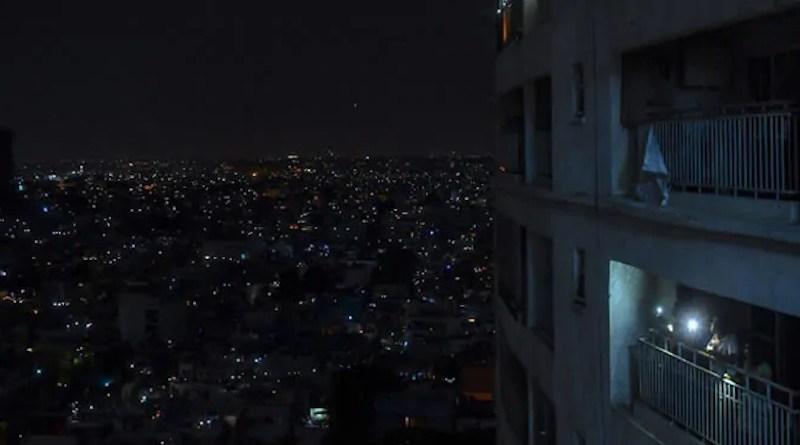 Blackout in Iran. Photo Credit: Iran News Wire