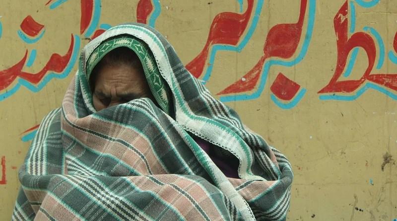 Elderly Refugee Old Woman Portrait Cry Blanket People