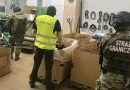 Members of Europol and Poland's Border Guards dismantle an organized crime group involved in the production of illegal cigarettes. Photo Credit: Europol