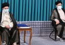 Iran's Ayatollah Seyed Ali Khamenei and Ebrahim Raeisi. Photo Credit: Tasnim News Agency