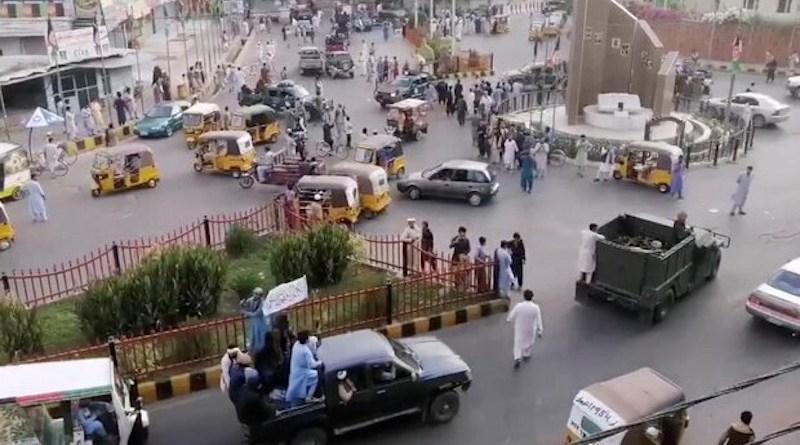 Taliban entering Kabul, Afghanistan. Photo Credit: Mehr News Agency