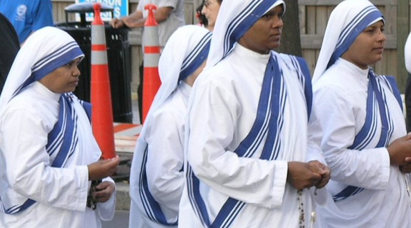 File photo of religious sisters from the Missionaries of Charity. Photo Credit: Fennec, Wikipedia Commons