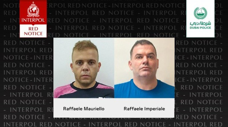 Raffaele Imperiale and Mauriello were subjects of INTERPOL Red Notices. Credit: INTERPOL