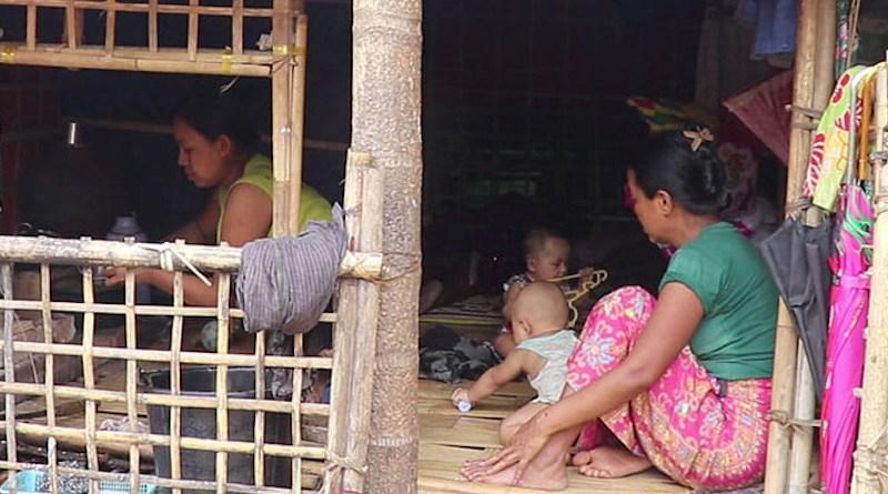 Internally displaced people (IDPs) in Arakan State, Myanmar. Photo Credit: DMG