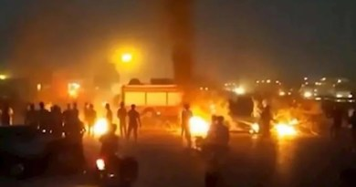 Protests in Iran. Photo Credit: Iran News Wire