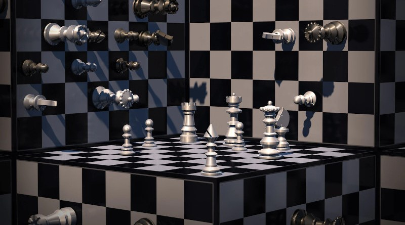 chess game strategy 3d