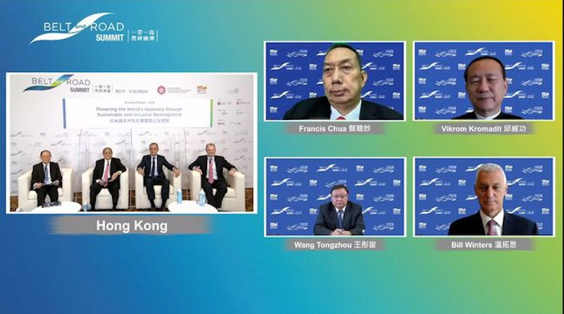 """The sixth Belt and Road Summit will be held online on 1-2 September, with the theme """"Driving Growth through Fostering Regional and International Trade""""."""