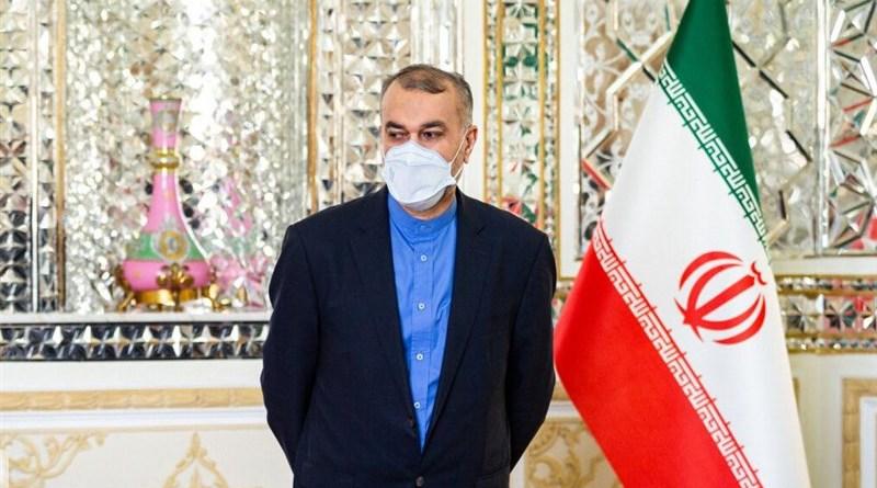 Foreign Minister of Iran Hossein Amirabdollahian. Photo Credit: Tasnim News Agency