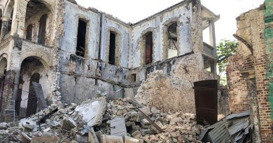 Destruction from the earthquake in Haiti. Photo Credit: USAID's Bureau for Humanitarian Assistance, Wikipedia Commons