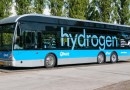 A hydrogen powered bus (Photo supplied)