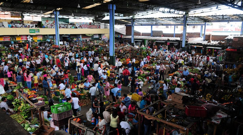 A food market in the Colombian Andes CREDIT: Alliance of Bioversity International and CIAT/N.Palmer