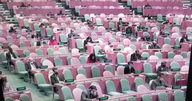 Photo: On the second day of the high-level UN session on September 22, the General Assembly Hall was virtually empty due to corona virus restrictions. But at least one delegate was tested positive.