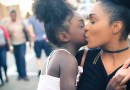 Family Girl Mother Daughter Black Women Afro-American Woman