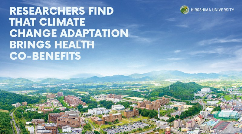 Image title: Researchers find that climate change adaptation brings health co-benefits Image caption: An international team of researchers conducted the first comprehensive review of urban climate change responses and the positive effects that adjustment may have on human health and wellbeing. Image credit: Hiroshima University