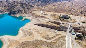 Jarreh Dam near Ramhormoz, Iran. Photo Credit: Tasnim News Agency