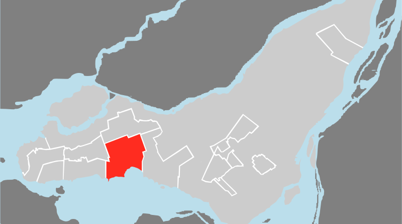 Location of Pointe-Claire. Credit: Wikipedia Commons