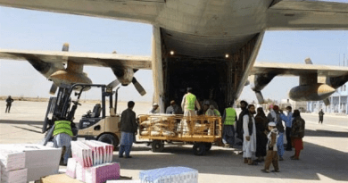 Iran delivers humanitarian aid to Afghanistan. Photo Credit: Tasnim News Agency