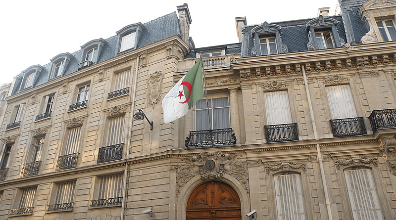 Algeria's embassy in Paris, France. Photo Credit: Pymouss, Wikipedia Commons
