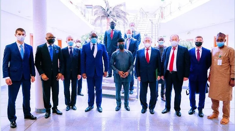 Vice-President Yemi Osinbajo at Nigeria-Russia meeting of officials. (Photo supplied)
