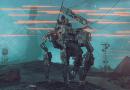 video game Scifi War Future Futuristic Robot Gunfire Combat