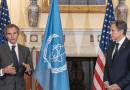 Secretary of State Michael Antony J. Blinken meets with IAEA Director General Rafael Mariano Grossi at the U.S. Department of State in Washington, D.C. on October 18, 2021. (Photo: U.S. State Department)
