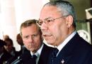 US Secretary Colin Powell with NATO Secretary General Jaap de Hoop Scheffer. Photo Credit: Michael Gross, US State Dept