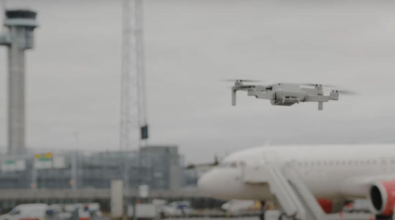 Anti-drone countermeasure exercise in Oslo, Norway airport. Photo Credit: INTERPOL video screenshot