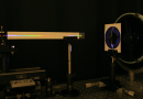 A lightweight flexible lens can focus light or separate it into its constituent colors CREDIT: Rensselaer Polytechnic Institute