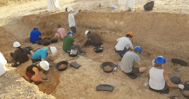 Excavation campaign in Albalá site (Spain). Photo Credit: Davinia Moreno