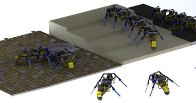 Swarm robots CREDIT: University of Notre Dame