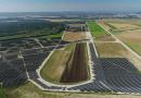 Athies-Samoussy solar farm in France. Photo Credit: Eni
