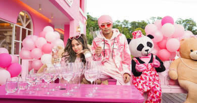 Australian Kimberly Chen and Malaysian singer Namewee are seen in an undated photo. Photo Credit: AsiaLink