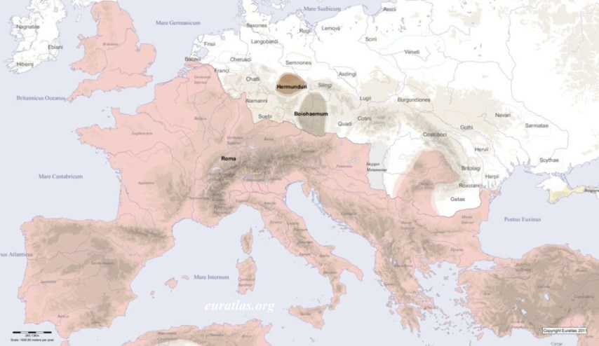 Short History of Europe Europe in AD 200