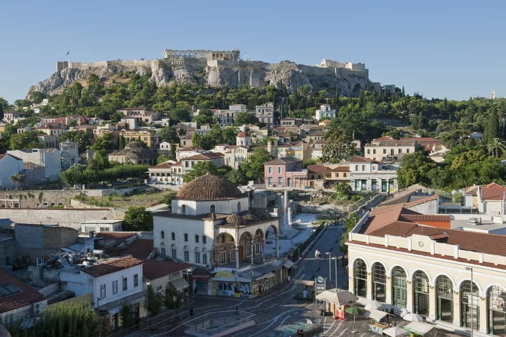 Ottoman heritage of Athens walking tour and hammam experience