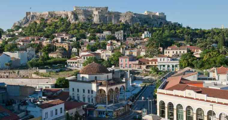 5 amazing roof top bars in Athens!