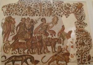Mosaïque du Triomphe de Bacchus, Musée de Sousse (Tunisie)