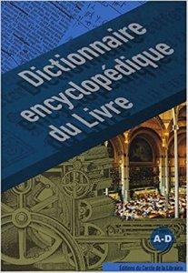couverture du Dictionnaire encyclopédique du livre