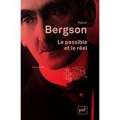 couverture du livre de Bergson Le possible et le néant