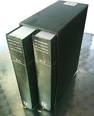 Photo du Dictionnaire historique de la langue française