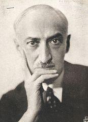 Portrait photographique d'André Maurois
