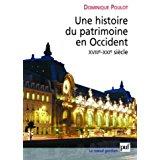 Serait-il possible d'avoir une bibliographie sur la gestion des monuments historiques en France et en Belgique ?