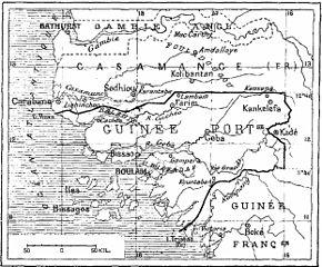 Guinée française et Casamance 1906 (Bnf)